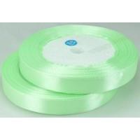 02А12-1 Лента атласная 1,2см 10шт  зеленая мята