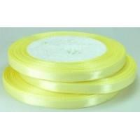 03А07-2 Лента атласная 7мм 10шт  спокойный желтый