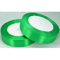 03А20-6 Лента атласная 2см 10шт зеленый