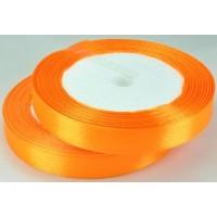 05А12-21 Лента атласная 1,2см 10шт оранжевый