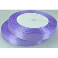 07А12-12 Лента атласная 1,2см 10шт фиолетовая