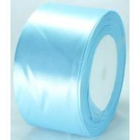 07А48-21 Лента атласная 4,8см 4шт голубая