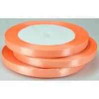 08А07-28 Лента атласная 7мм 10шт розово-оранжевый