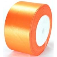 08А48-29 Лента атласная 4,8см 4шт ярко-оранжевая