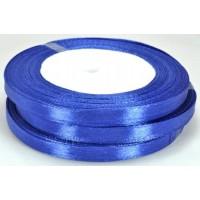 А07-38 Лента атласная 7мм 10шт синяя 32м
