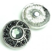 СБЧ1600-1 Кнопка чанка для браслета Noosa Ф2,2см