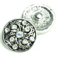 СБЧ1600-2 Кнопка чанка для браслета  Noosa Ф2,2см