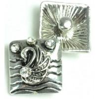 СБЧ1600-5-6-8 Кнопка чанка для браслета Noosa