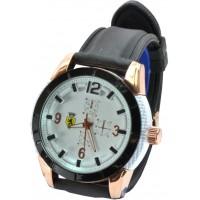 Часы Ferrari95-5 черные, диаметр корпуса 5см, ремешек силиконовый