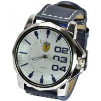 Часы Ferrari95-6-1 кварцевые диаметр корпуса 5см, ремешек кожзам
