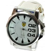 Часы Ferrari95-6-3 кварцевые диаметр корпуса 5см, ремешек кожзам