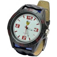 Часы Ferrari95-8-5 кварцевые диаметр корпуса 5см, ремешек кожзам
