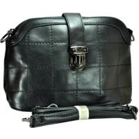 Арт 8133-1 Клатч-сумка черная 28х17,5х11см