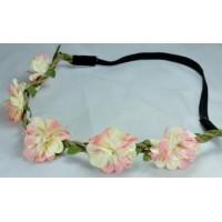 О1260-1 Греческая повязка розовая