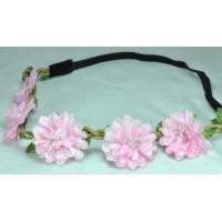 О1580-1 Греческая повязка розовая