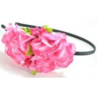 О1950-2 Обруч гортензия розовая