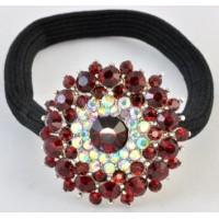 Р1550-3 Резинка с красными камнями