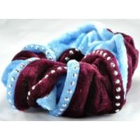 Р1625-7 Резинка бордово-голубая