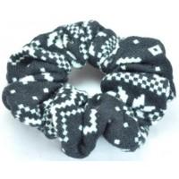 Р945-1 Резинка зимний трикотаж черная