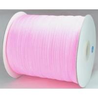 Ш06-5 Лента органза 7мм св.-розовая 450м