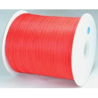 Ш06-8 Лента органза 7мм красная 450м