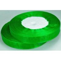 Ш12-4 Лента органза 1,2см зеленая
