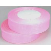 Ш25-2 Лента органза 2,5см св.-розовый 45м