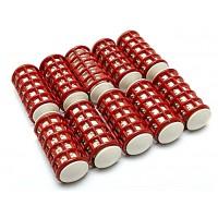 Бигуди термо НОВЫЕ, Ф2,5см (10шт в упаковке) 36003