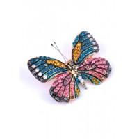 БР5220-1 Брошка бабочка 5х4см