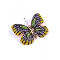 БР5220-2 Брошка бабочка 5х4см