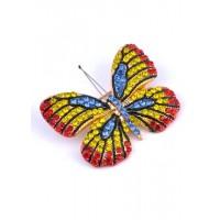 БР5220-3 Брошка бабочка 5х4см