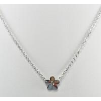 СП6930-5 Подвеска  длина цепочки вдвое 20см цвет серебро