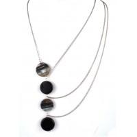 СП 7000-5 Подвеска с натуральным камнем Агат