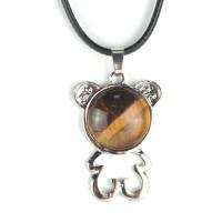 СП 5670-1 Подвески с натуральным камнем тигровый глаз