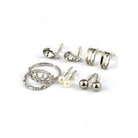 СГН2995-6 Набор серьги 4пары+кольца 2шт