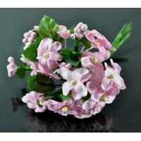 ЦВ100-1/6 Цветочек тканевые Ф1,5см св.-розовый