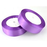 06А25-60 Лента атласная 2,5см 5шт фиолетовый