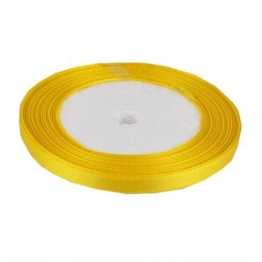 03А07-18 Лента атласная 7мм 10шт желтая