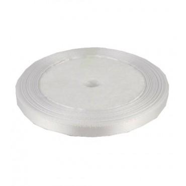 01А07-6 Лента атласная 7мм 10шт  белая