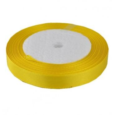 04А12-20 Лента атласная 1,2см 10шт светло-желтый