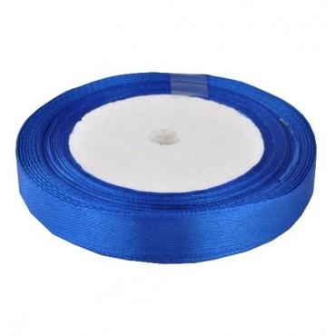 05А12-40 Лента атласная 1,2см 10шт синяя