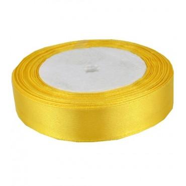 02А20-10 Лента атласная 2см 10шт желтый