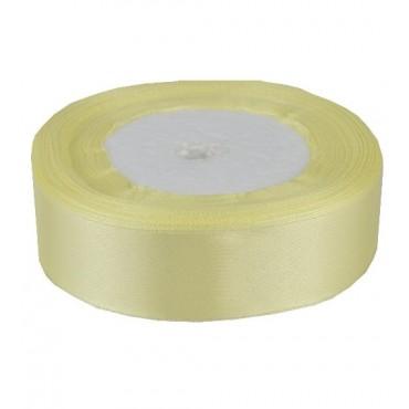 05А25-14 Лента атласная 2,5см 5шт светло-желтая