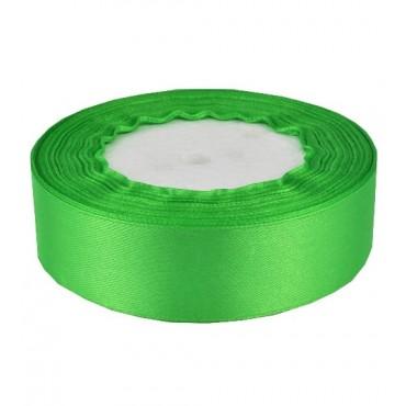 03А25-22 Лента атласная 2,5см 5шт зелень