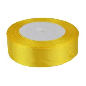 05А25-31 Лента атласная 2,5см 5шт желтый