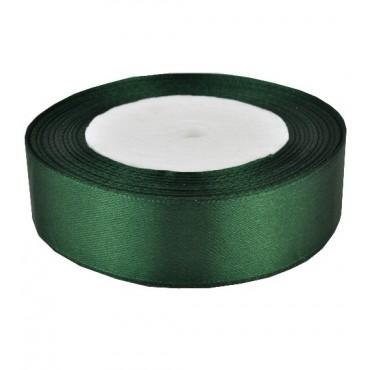 03А25-59 Лента атласная 2,5см 5шт зеленая