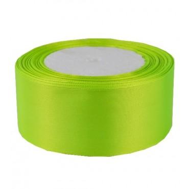 06А38-10 Лента атласная 3,8см 5шт ультра-зеленый