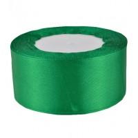 06А38-15 Лента атласная 3,8см 5шт зеленый