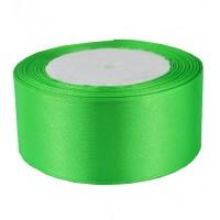 06А38-17 Лента атласная 3,8см 5шт зелень