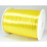А03-11 Лента атласная 3мм желтая 796м